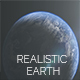Realistic Planet Earth for Cinema - VideoHive Item for Sale
