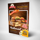 Burger & Fast Food Restuarant Flyer
