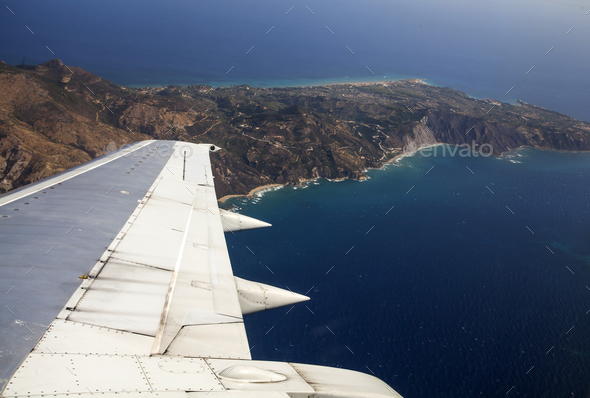 Aerial View of Zakynthos - Stock Photo - Images