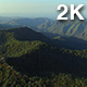 Flying Above The Mountains with Green Forest - VideoHive Item for Sale