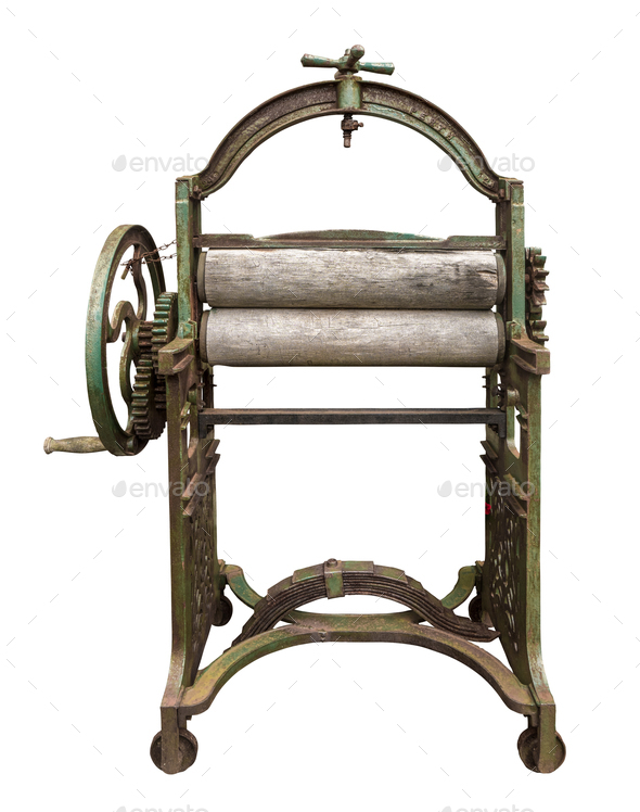 Isolated Laundry Press - Stock Photo - Images