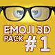 3D Emoji Pack 1 - VideoHive Item for Sale
