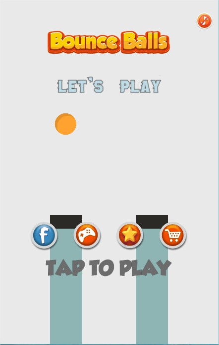Bouncing Ball jump- HTML5 Game - Mobile - ( CAPX & HTML5)