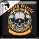 Skull Death Circle Design - GraphicRiver Item for Sale