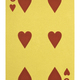 Golden playing cards, Six of hearts - PhotoDune Item for Sale