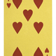 Golden playing cards, Seven of hearts - PhotoDune Item for Sale