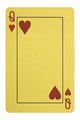 Golden playing cards, Queen of hearts - PhotoDune Item for Sale