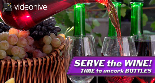 Serve the WINE!
