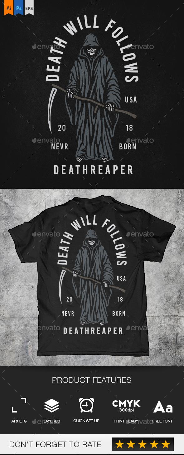 Death Reaper - Grunge Designs