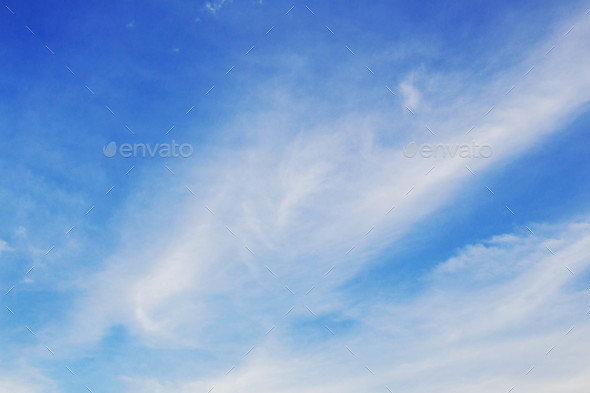 clouds and blue sky - Stock Photo - Images