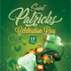 Saint Patricks Flyer - GraphicRiver Item for Sale