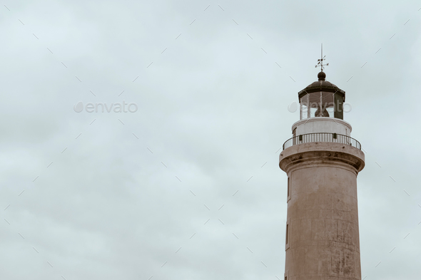 Lighthouse of Alexandroupolis city in Greece - Stock Photo - Images