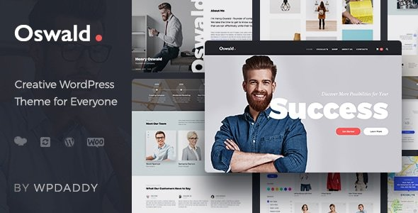 Oswald - Creative Multi-Purpose Responsive WordPress Theme - Business Corporate