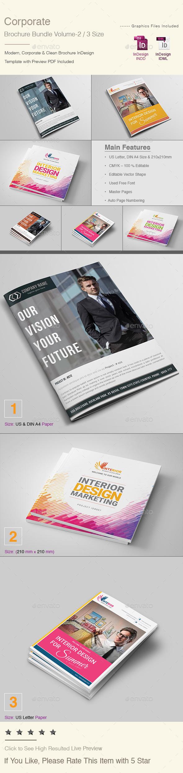 Corporate Brochure Bundle | Volume - 2 - Corporate Brochures