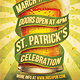 St. Patrick's Retro Flyer - GraphicRiver Item for Sale