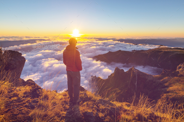 Hike in Madeira - Stock Photo - Images