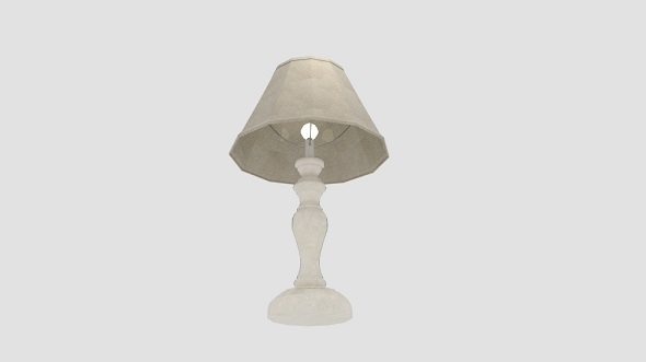 Oaks Lighting Provence Table Lamp - 3DOcean Item for Sale