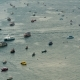 Top View of Floating Many Ships and Boats in the Sea. . Thailand. Pattaya - VideoHive Item for Sale