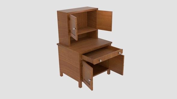 Hoosier Cabinet - 3DOcean Item for Sale