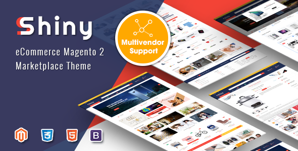 Shiny - Responsive Magento 2 Marketplace Theme - Shopping Magento