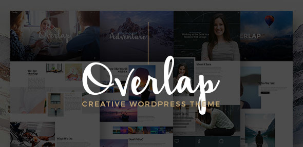Overlap - High Performance WordPress Theme - Portfolio Creative