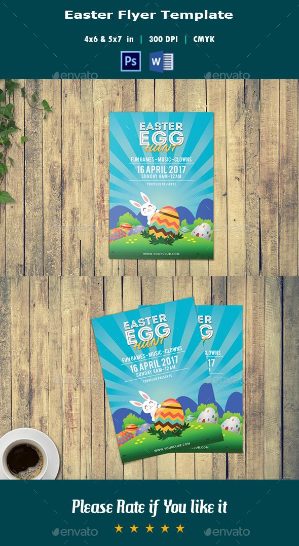Easter Flyer V04 - Events Flyers