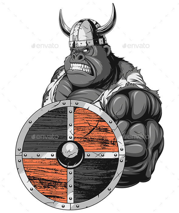 Gorilla Viking - Sports/Activity Conceptual