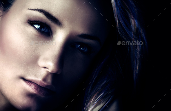 Fashion woman portrait - Stock Photo - Images