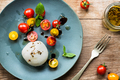 Mozzarella with Cherry Tomato salad - PhotoDune Item for Sale