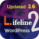 Lifeline 2 - An Ultimate Nonprofit WordPress Theme for Charity, Fundraising and NGO Organizations - ThemeForest Item for Sale