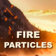 Flying Fire Sparks / Particles - VideoHive Item for Sale