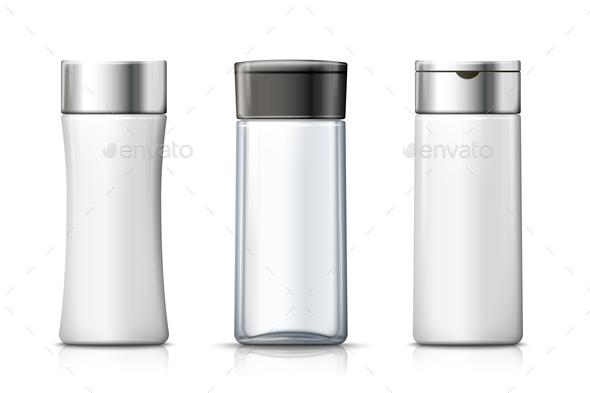 Shampoo Bottles - Health/Medicine Conceptual