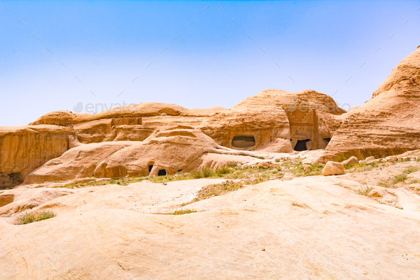 Wonders of Petra - Stock Photo - Images