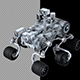 3d Object Space Rover - VideoHive Item for Sale