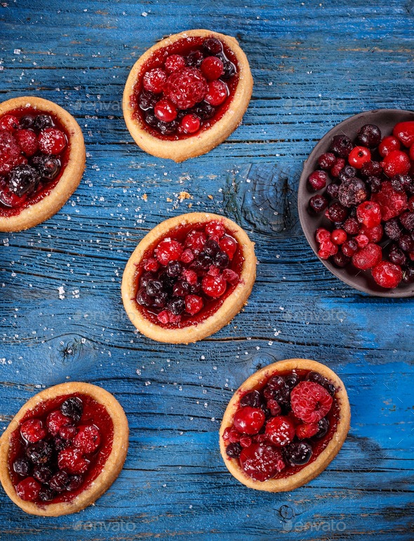 Homemade tartlets - Stock Photo - Images