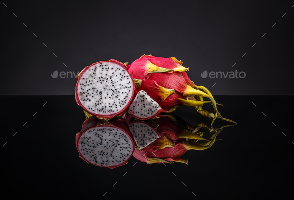 Dragon fruits - Stock Photo - Images
