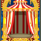 Carnival Circus Birthday Card - GraphicRiver Item for Sale