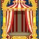 Carnival Circus Birthday Card