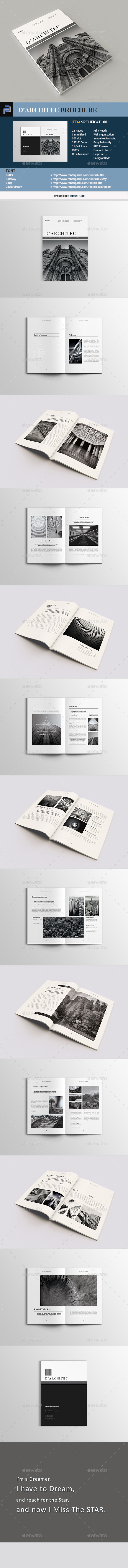 Architecture Brochure - Portfolio Brochures