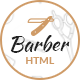 Barber - Hair Salon Bootstrap HTML Template - ThemeForest Item for Sale