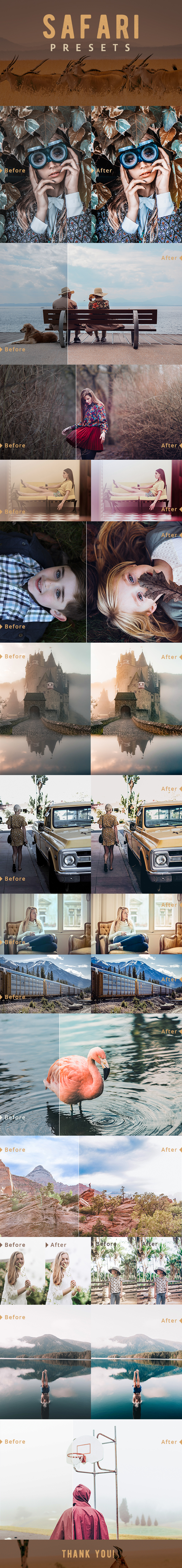 Safari Lightroom Presets - Film Lightroom Presets