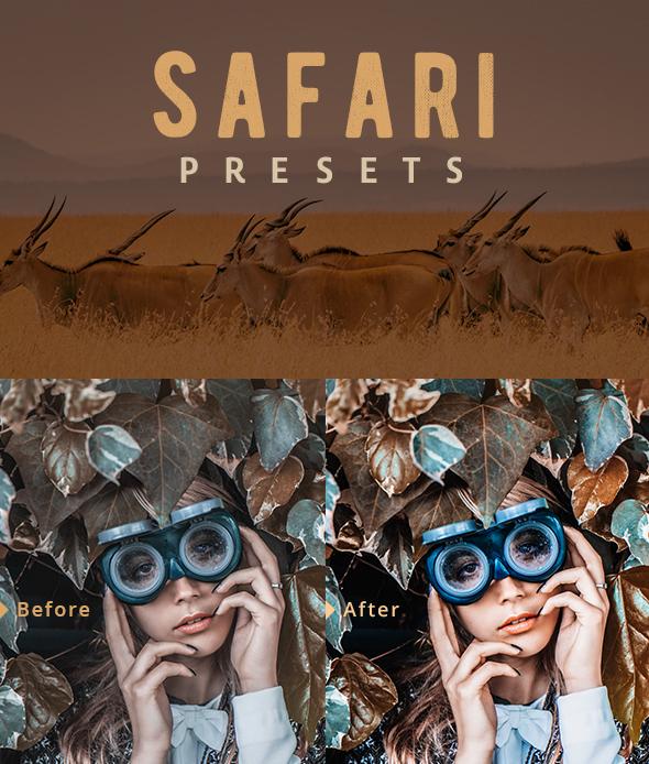 Safari Lightroom Presets