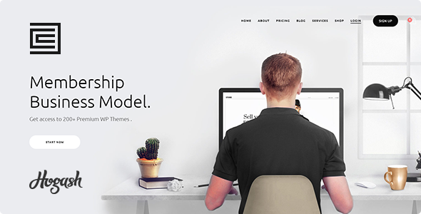 Membership HTML template - Creative Site Templates