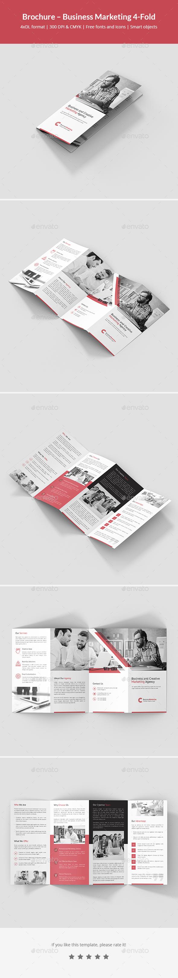 Brochure – Business Marketing 4-Fold - Corporate Brochures