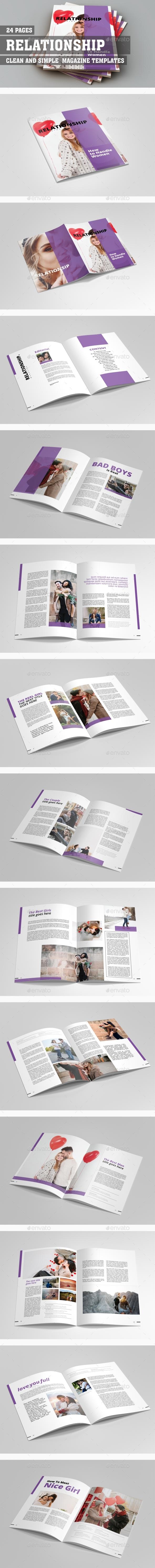 Relationship Magazine - Magazines Print Templates