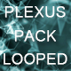 Abstract Plexus Background Looped Pack - VideoHive Item for Sale