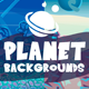 Parallax Planet Backgrounds
