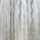 Long white mane of horse close up.  - PhotoDune Item for Sale