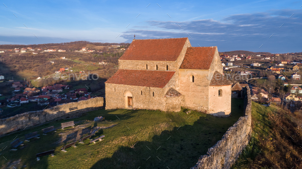 Cisniadioara Fortified Church - Stock Photo - Images