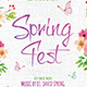Spring Fest Flyer Template - GraphicRiver Item for Sale